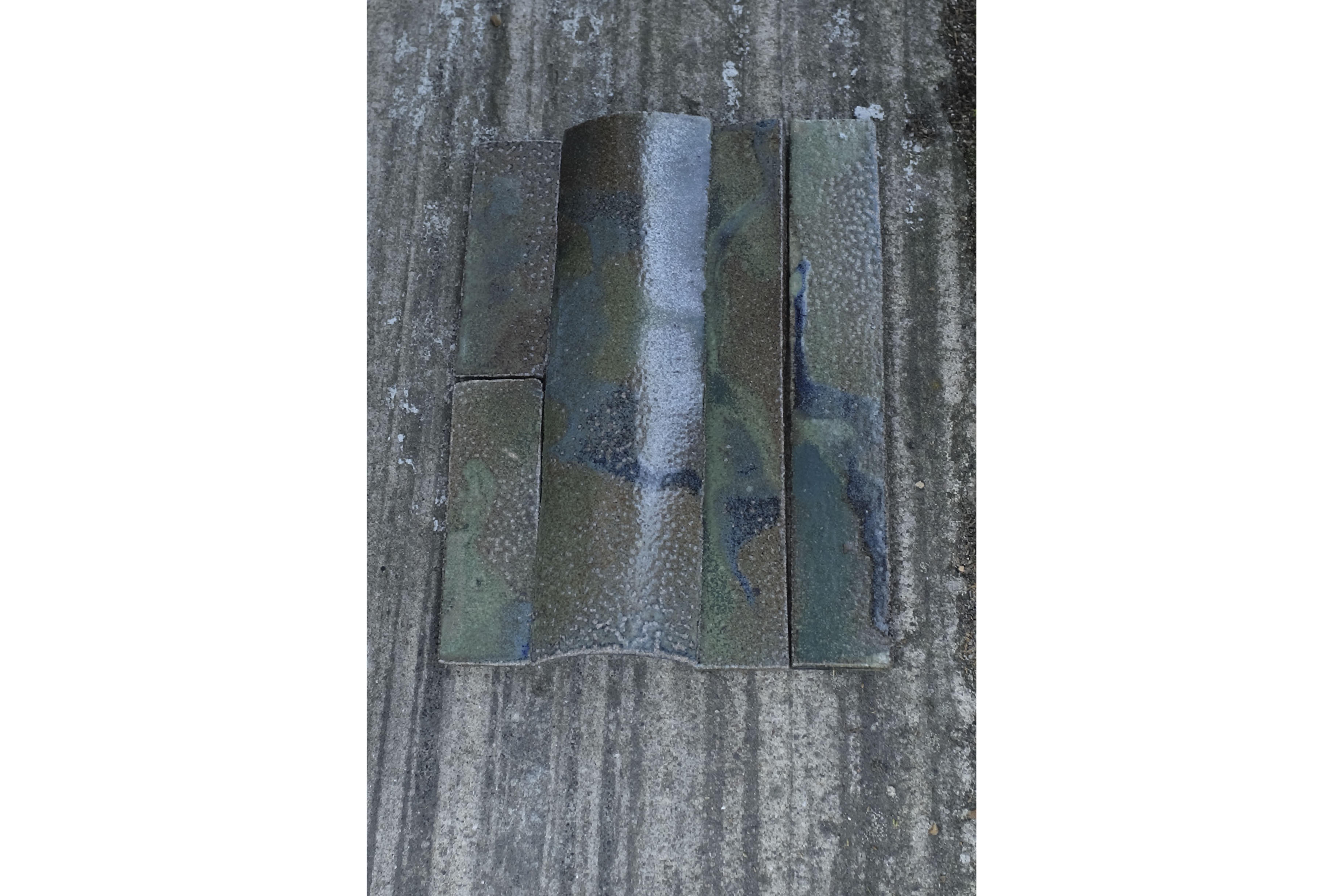 Tiles salt glaze saltglasering kakel ceramics object design architecture objekt