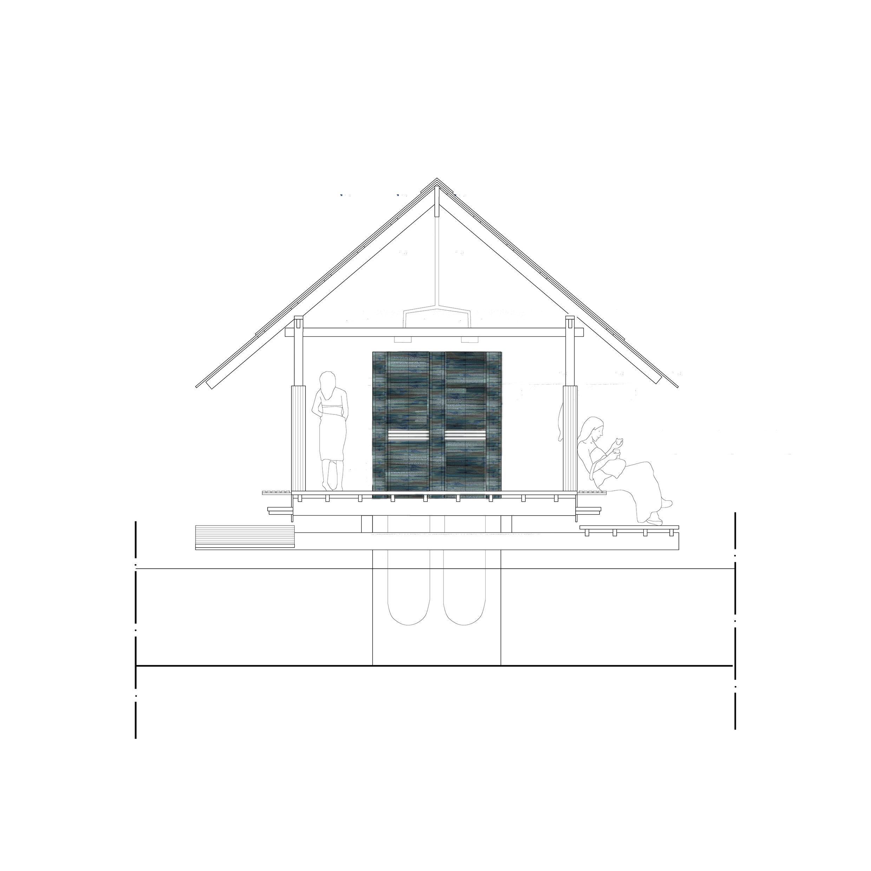 arkitektur architecture tiles bathhouse cold vinterbad kallbadhus