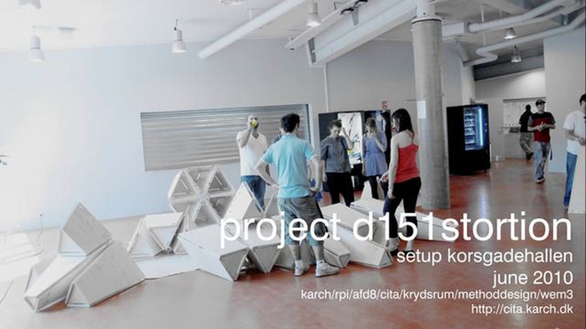 projectDistortion_setup Korsgadehallen / Copenhagen