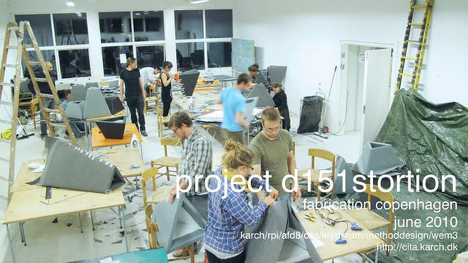 project Distortion production / Copenhagen