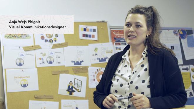 Kreative karrierespor: Anja Wejs Phigalt - kommunikationsdesigner hos Roskilde kommune