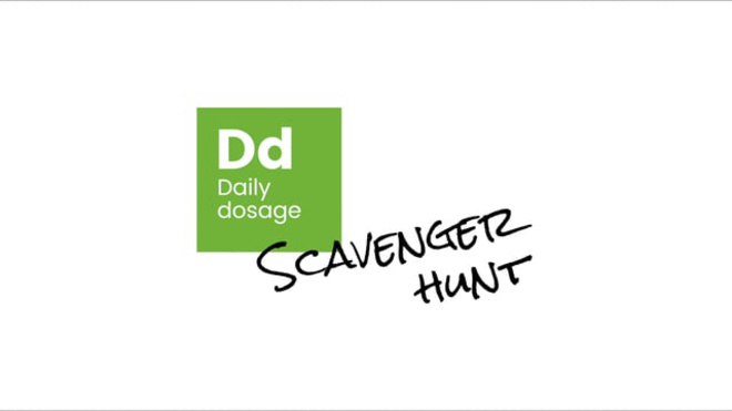 Daily Dosage Scavenger Hunt