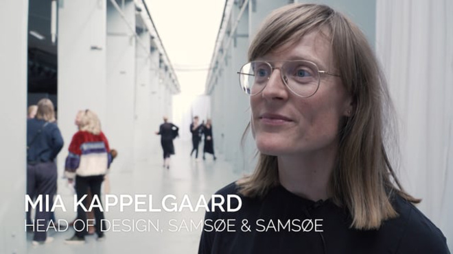 Head of Design hos Samsøe & Samsøe Mia Kappelgaard udtaler sig om KADK's Future of Fashion-show