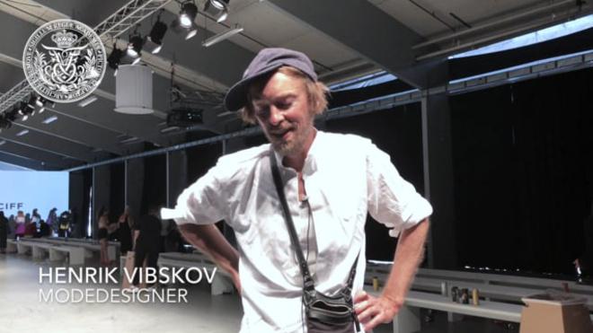 Modedesigner Henrik Vibskov - Fashion Week 2018