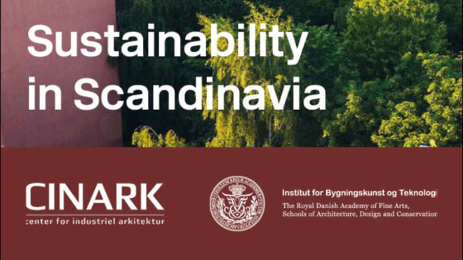 David Leatherbarrow, CINARK seminar on Sustainable Scandinavia 8/10/2018