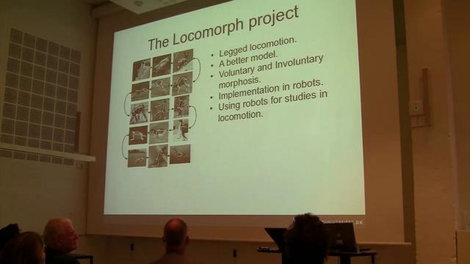 Jørgen Christian Larsen PhD presentation at the Cybernetics, Architecture & Robotics seminar, Copenhagen 2011
