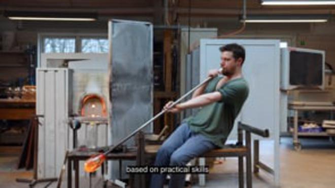 KADK Professional Bachelor: CRAFTS - Glass and Ceramics