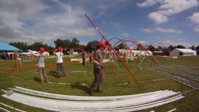 Faraday Pavilion - Roskilde Festival 2012