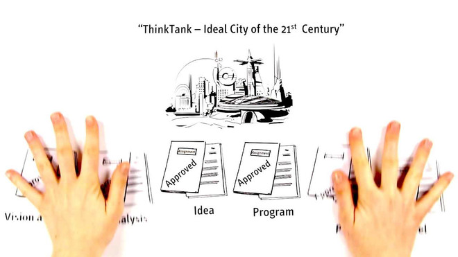 "Leuphana Digital School - ""ThinkTank -- Ideal City of the 21st Century"""