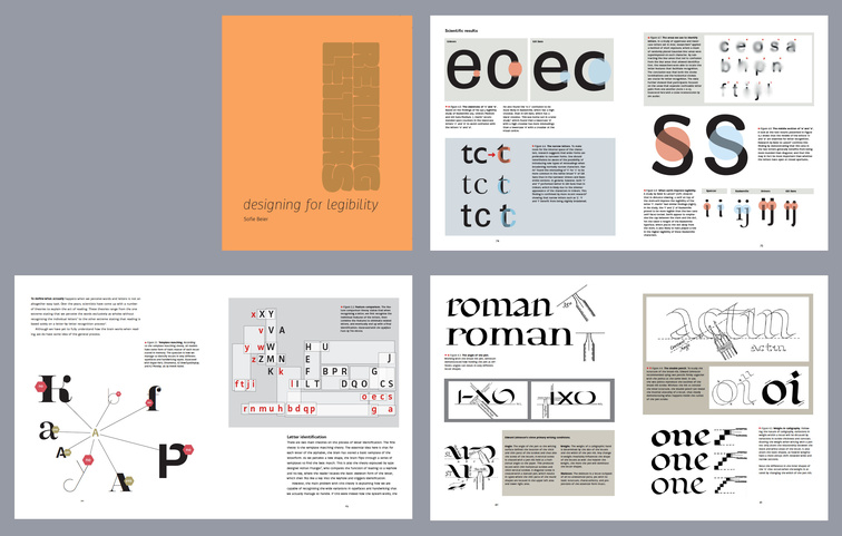 Reading Letters Designing For Legibility